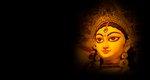 Indian religion festival durga...