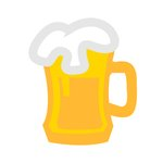 Vector beer mug   beer icon ...